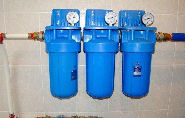 Фильтр тонкой очистки воды