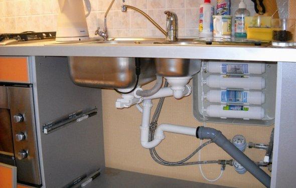 Фильтры для воды установка