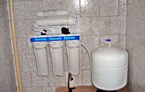 Как установить фильтр для воды