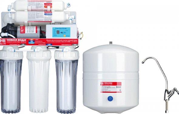 Обратный фильтр для воды